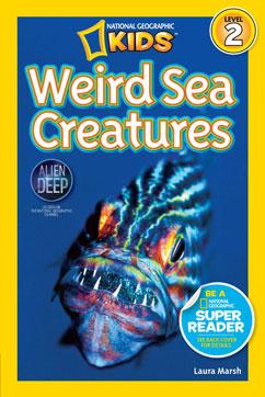 Cover for Weird Sea Creatures