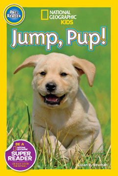 Cover for Jump, Pup!