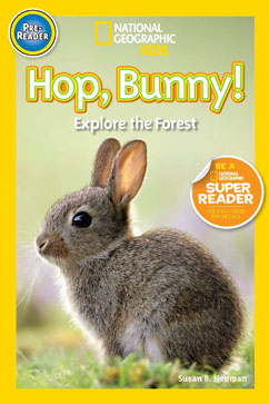 Cover for Hop, Bunny!