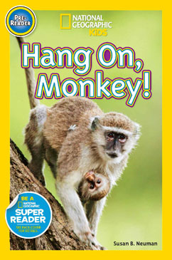Cover for Hang On Monkey!