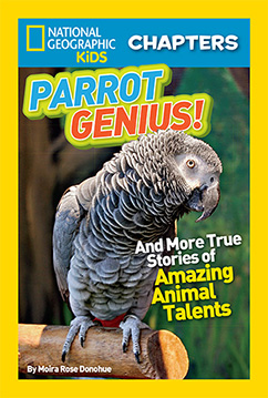 Cover for National Geographic Kids Chapters: Parrot Genius
