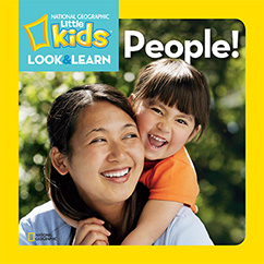 Cover for National Geographic Kids Look and Learn: People!
