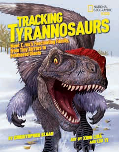 Cover for Tracking Tyrannosaurs
