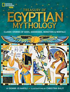 Cover for Treasury of Egyptian Mythology