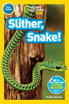 Cover for Slither, Snake!