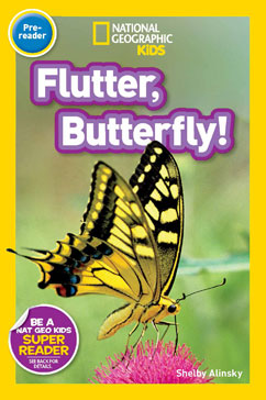 Cover for Flutter, Butterfly!
