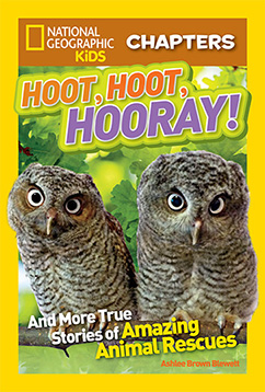 Cover for National Geographic Kids Chapters: Hoot, Hoot, Hooray!