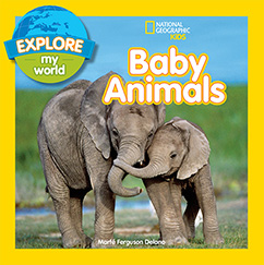 Cover for Explore My World Baby Animals