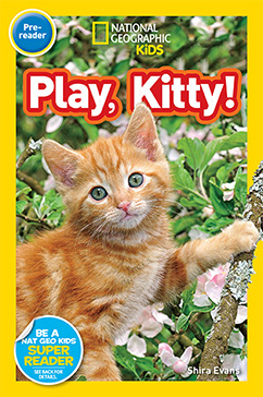 Cover for National Geographic Readers: Play, Kitty!