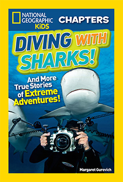 Cover for National Geographic Kids Chapters: Diving With Sharks!
