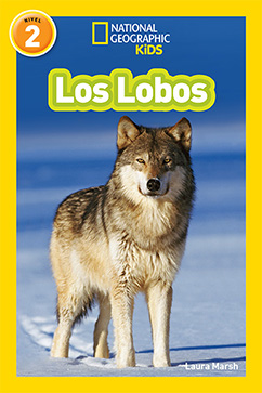 Cover for National Geographic Readers: Los Lobos (Wolves)
