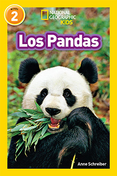 Cover for National Geographic Readers: Los Pandas (Pandas)