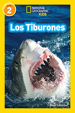 Cover for National Geographic Readers: Los Tiburones (Sharks)