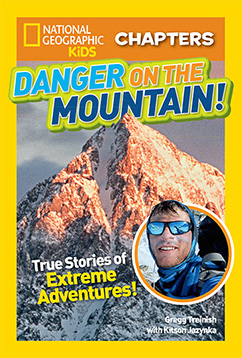 Cover for National Geographic Kids Chapters: Danger on the Mountain