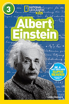 Cover for National Geographic Readers: Albert Einstein