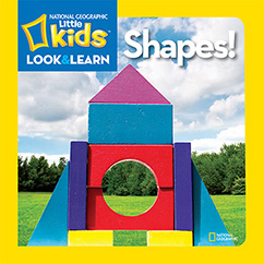 Cover for National Geographic Kids Look and Learn: Shapes!