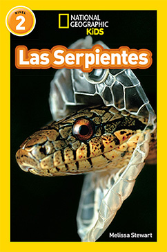 Cover for National Geographic Readers: Las Serpientes (Snakes)