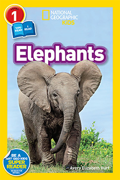 Cover for National Geographic Readers: Elephants