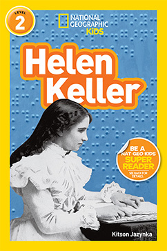 Cover for National Geographic Readers: Helen Keller