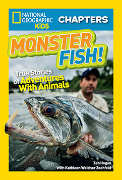Cover for National Geographic Kids Chapters: Monster Fish!