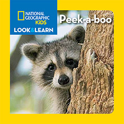 Cover for National Geographic Kids Look and Learn: Peek-a-boo