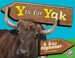 Cover for Y Is for Yak