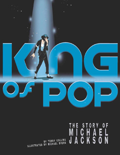Cover for King of Pop: The Story of Michael Jackson