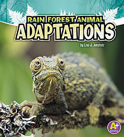 Cover for Rain Forest Animal Adaptations