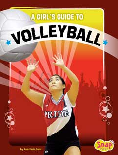 Cover for A Girl's Guide to Volleyball