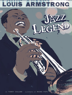 Cover for Louis Armstrong: Jazz Legend