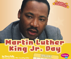 Martin Luther King Jr. Day book cover