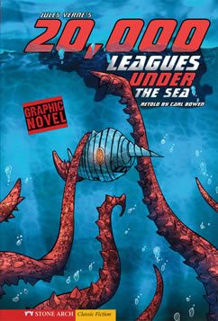 Cover for 20,000 Leagues Under the Sea