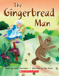 Cover for E-Mouse The Gingerbread Man