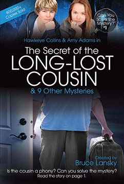Cover for CYSM 1-The Secret of the Long-Lost Cousin