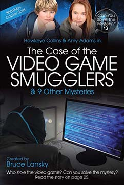 Cover for CYSM 3-The Case of the Video Game Smugglers