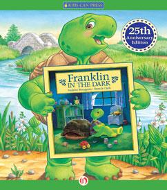 Cover for Franklin in the Dark