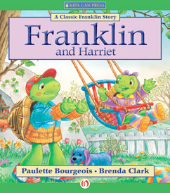 Cover for Franklin and Harriet