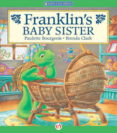 Cover for Franklin's Baby Sister