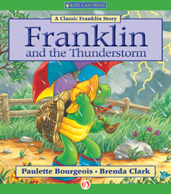 Cover for Franklin and the Thunderstorm