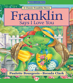 Cover for Franklin Says I Love You