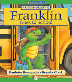 Cover for Franklin Goes to School