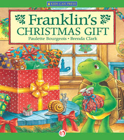 Cover for Franklin's Christmas Gift