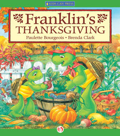 Cover for Franklin's Thanksgiving
