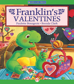 Cover for Franklin's Valentines