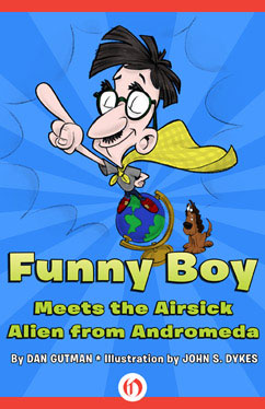 Cover for Funny Boy Meets the Airsick Alien from Andromeda