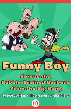 Cover for Funny Boy Versus the Bubble-Brained Barbers from the Big Bang