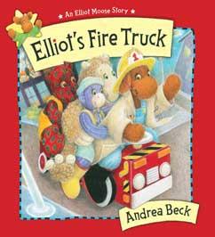 Cover for Elliot's Fire Truck