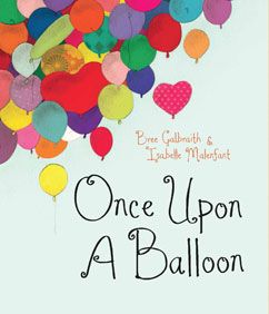 Cover for Once Upon a Balloon