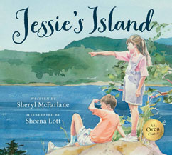 Cover for Jessie's Island