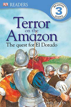 Cover for Terror on the Amazon